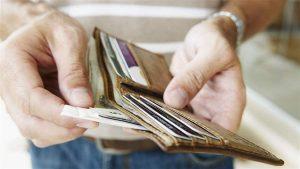 Príjem v peňaženke